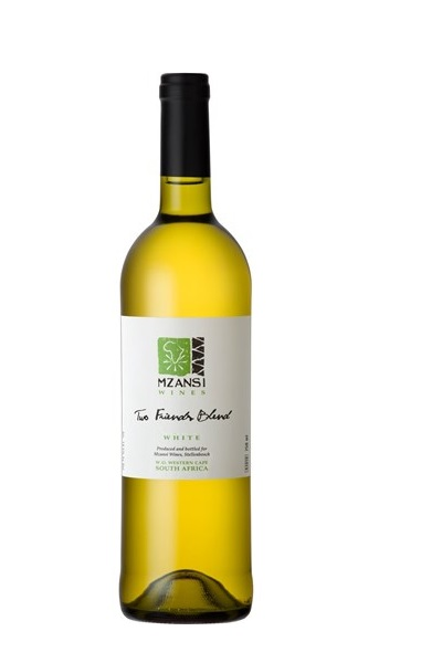 The Mzansi Two Friends White Blend 2018 has a lively freshness with aromatic flavours, threaded with tropical fruits and a juicy finish.