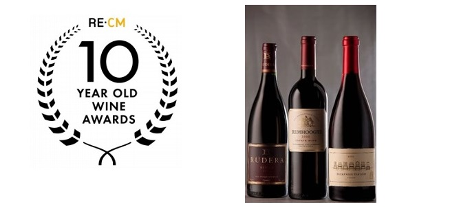 RE:CM 10 Year Old Wine Awards Winners